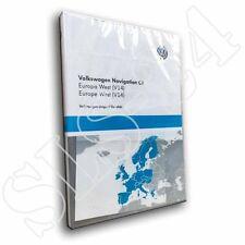 VW Volkswagen Navigation Europa West 2017 V14 DVD RNS510/810 Skoda Columbus EU