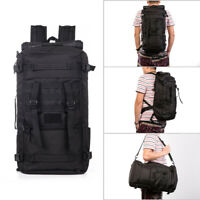 50L Military Outdoor Tactical Molle Backpack Travel Hiking Camping Tote Bag Duff