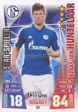 Match Attax 15/16 - 287 - Klaas-Jan HUNTELAAR - Star-Spieler