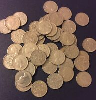 1000 British Sixpence Coins Wedding Tradition UK Great Britain 6 Pence Coin Lot
