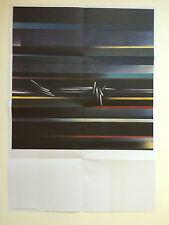 Zaha Hadid, cartel doblado/Guía de la galería Serpentine Gallery, 2016.