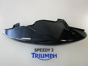 TRIUMPH SPEED TRIPLE 1050 / R RIGHT SIDE PANEL JET BLACK T2306605-PG 2011-16
