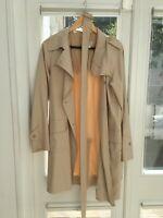 AGNES B Trench Coat - Beige - Size 40 (Retail Price £400)