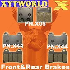 FRONT REAR Brake Pads SUZUKI GSX 1200 FSW FSX Inazuma 1998 1999