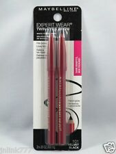 New Maybelline Expert Wear Twin Brow & Eye Pencils-101 Velvet Black