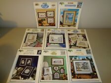 Color Chart Cross Stitch Pattern Lot Skyhunter Amish Star Classic Cars Butterfly