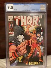 Thor 165 CGC 9.0 OW/White pages 1st Appearance Adam Warlock! MCU GOTG3 & Beyond!