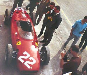 FERRARI Dino 156 P 1960 Italian Grand Prix FERRARI Jesse Alexander Photo Print