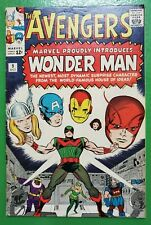 Avengers #9 1st App Wonder Man Stan Lee Jack Kirby 1964 Marvel FN