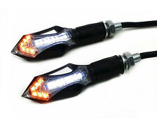 Front Arrow LED TURN SIGNAL Running Light For Honda Standard Bike Dual Sport CBR