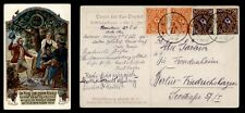 DR WHO 1923 GERMANY ROSENHEIM POSTCARD PAIRS C186171