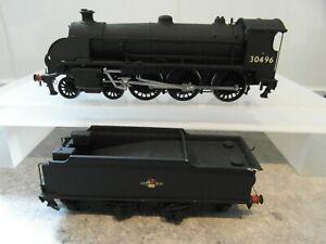 DJH FINECAST LSWR/SR/BR BLACK URIE S15 BR BLACK 30496 LATE EMBLEM LOCOMOTIVE K46