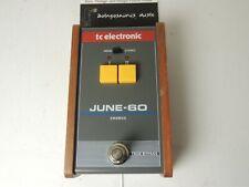 TC Electronics June 60 Chorus Effects Pedal Free USA Ship