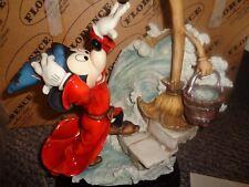 Florence Giuseppe Armani 0325C Mickey Mouse Disney Sorcerer's Apprentice New Box