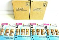 Set of 2 boxesCoverGirl TruBlend Foundation Samples 2 pack--Medium #415 12 pcs.
