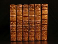 1738 The Jewish Letters Boyer d'Argens Judaica MAGIC Vampires Witchcraft 6v SET