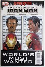 Invincible Iron Man #9 (Mar 2009, Marvel) Dark Reign (C1222)