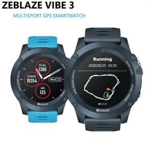 Zeblaze VIBE 3 GPS Smartwatch Heart Rate MultiSports Waterproof For Android IOS