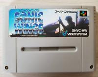 Sonic Wings SFC F/S Japan SNES Nintendo Super Famicom