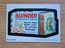 "1980 Topps Wacky Packages #209 ""Blunder Bread"""