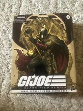 ?PulseCon G.I.Joe Classified Series Snake Supreme Cobra Commander  IN STOCK NICE