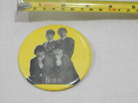 VINTAGE BEATLES THE BEATLES JOHN LENNON  PIN BACK BUTTON BADGE