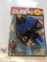 GI Joe ARAH Air Commandos Cobra Night Vulture Glider  COMPLETE With Box