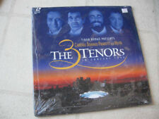 "THE 3 TENORS ""In Concert 1994"" NEW/SEALED LASER DISC CARRERAS PAVAROTTI DOMINGO"