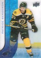2015-16 Upper Deck Ice #76 Patrice Bergeron Boston Bruins