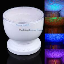 Ocean Sea Aurora Master LED Night Light Projector Romantic Relaxing Lamp Speaker