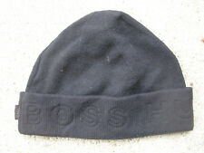 cc3a9fa5c2d76b Hugo Boss Black Knit Wool Beanie Hat one size fits all