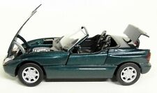 Schabak 1/43 Scale - BMW Z1 Metallic Green / Moving parts Diecast Model Car