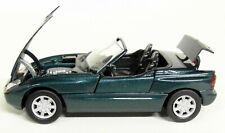 Schabak 1/43 Scale - BMW Z1 Metallic Green / Moving parts Diecast Model Car