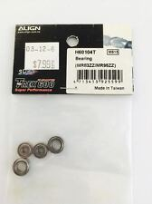 H60104 Align RC Helicopter Trex 600 Bearings MR83ZZ MR95ZZ New In Package