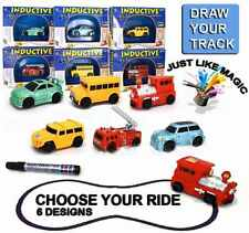 Follow Any Drawn Line Magic Pen Inductive Toy Car Truck Bus Tank Model UK SELLER