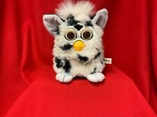 1998 Tiger Electronics Furby Dalmatian White with Black Spots working