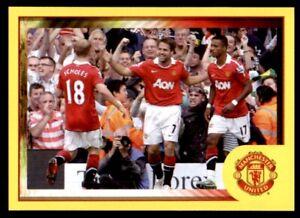 Panini Manchester United 2010-2011 Paul Scholes / Michael Owen / Nani # L