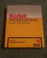 Kodak Technical Pan 4415 Professional Film Unopened 5x4 Sheet Film Expired