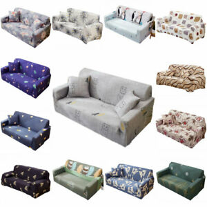 1 2 3 4 Seater Stretch Sofa Cover Slipcover Couch Loose Cover Elastic Tight Wrap