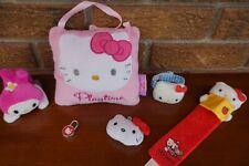 PLUSH Hello KITTY Lot Set Pink Red Soft Bookmark Bracelet Door Pillow Mini Head
