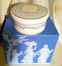 "Wedgwood ""Venive"" Bone China Trinket Box or Vanity Jar ~ Made in England"