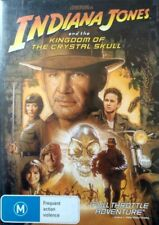 INDIANA JONES And The Kingdom Of The Crystal Skull DVD Movie BRAND NEW R4