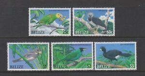 Belize - 2009, Endangered Birds set - MNH - SG 1363/7