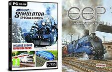 Trainz Simulator Special Edition & EEP Train Simulator 5 Steel Tin Edition N/S