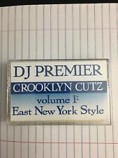 DJ Premier Crooklyn Cutz Vol.1 East New York Style 90s Mixtape Hip Hop Cassette