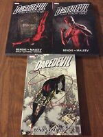 DAREDEVIL ULTIMATE COLLECTION VOLUMES 1 2 3 COMPLETE SET BENDIS/MALEEV =Omnibus!