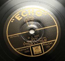 """JEAN WIENER & CLEMENT DOUCET O.K. Doc two pianos jazz french """"echo"""" 155 78 rpm"""