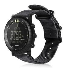 For Suunto Core Watch Band Premium Woven Nylon Sport Strap with Metal Buckle