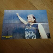 FISH - MARILLION - SIMPLE MINDS - FRENCH DOUBLE SIDED  Poster !!! VINTAGE