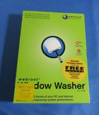 webroot Window Washer Five 2003 with My Personal Favorites CD Set